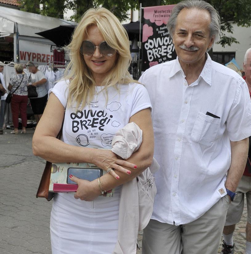 Grażyna Torbicka z mężem /Niemiec /AKPA