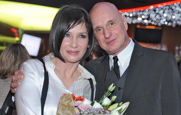 Grażyna Wolszczak i Cezary Harasimowicz, fot. Andrzej Szilagyi  /MWMedia