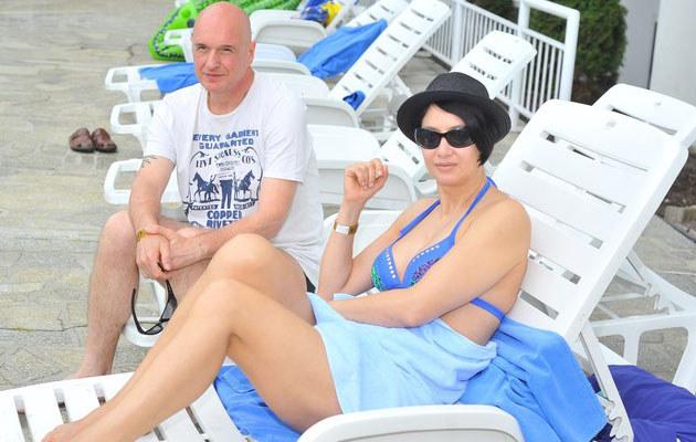 Grażyna Wolszczak i Cezary Harasimowicz, fot. Piotr Wygoda  /East News