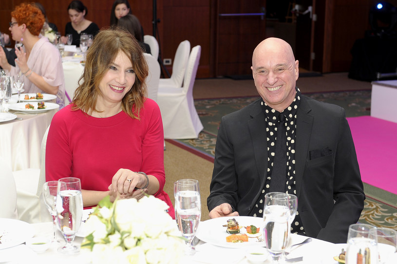 Grażyna Wolszczak i Cezary Harasimowicz /AKPA