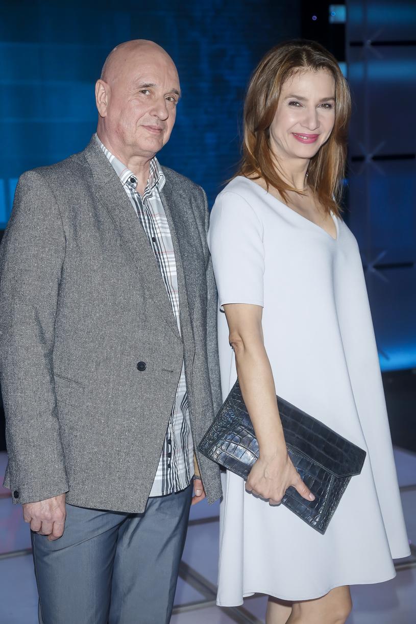 Grażyna Wolszczak i Cezary Harasimowicz /Baranowski /AKPA