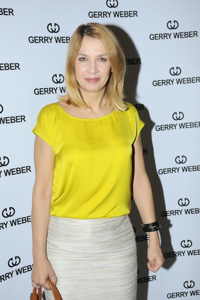 Grażyna Wolszczak jako blondybka /East News