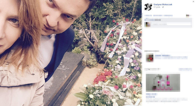 """Grażyna Wolszczak opublikowała zdjęcia z planu """"Na Wspólnej"""", które wiele nam zdradziły... /Facebook /internet"""