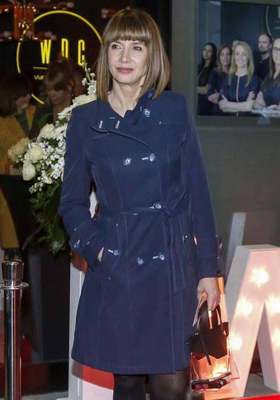 Grażyna Wolszczak pokazała, co nosi w torebce /Baranowski /AKPA