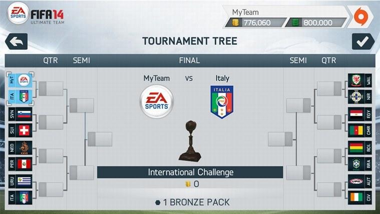 Grę FIFA14 zna chyba każdy fan futbolu. Można ją ściągnąć także na smartfona z Windows Phone /materiały prasowe