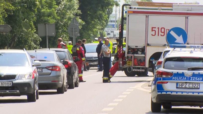 Grębiszew: W wypadku zginęli obaj kierowcy oraz dwoje dzieci /Polsat News