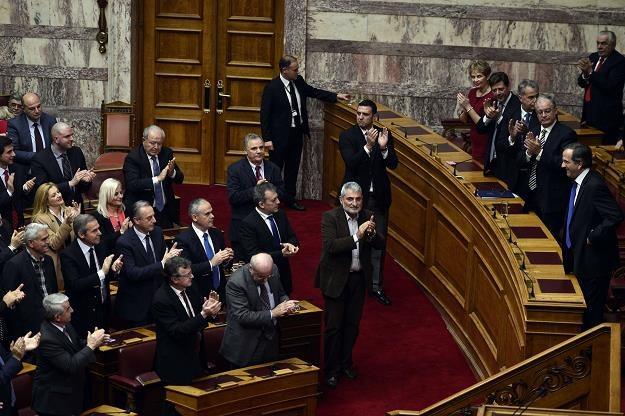 Grecja ma poważny problem polityczny /AFP
