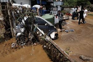 Grecja nękana żywiołami. Po pożarach powódź