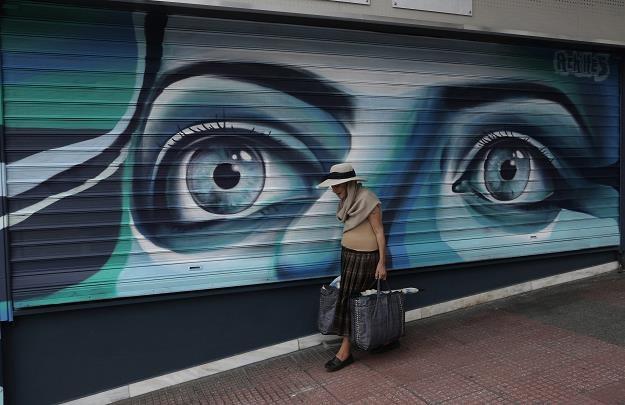 Grecja od dawna straszy Europę... /EPA