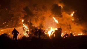 Grecia.  Incendiile au distrus mai mult de o mie de case.  Oamenii așteaptă ploaia