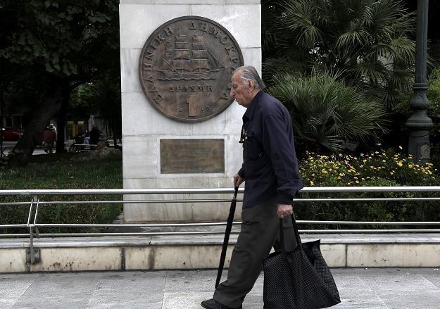 Grecja straszy Europę... /EPA