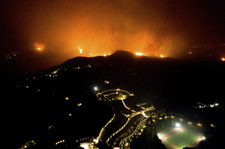 Grecja walczy z pożarami. Walka o starożytną Olimpię
