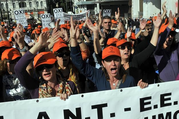 Grecja wprowadzi w najbliższych dniach kontrolę przepływu kapitałów? /AFP