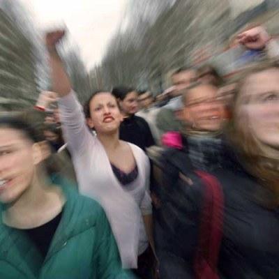 Grecję niemal całkowicie sparaliżował w środę strajk przeciwko programowi oszczędnościowemu rządu /AFP