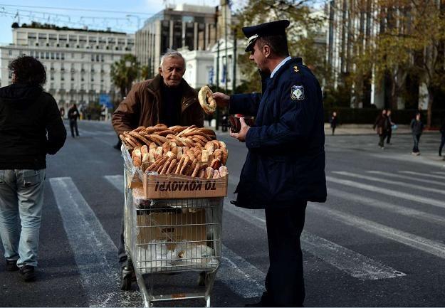 Grecję zżera kryzys finansów publicznych /AFP