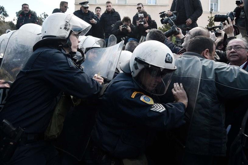 Grecka policja, zdj. ilustracyjne /AFP