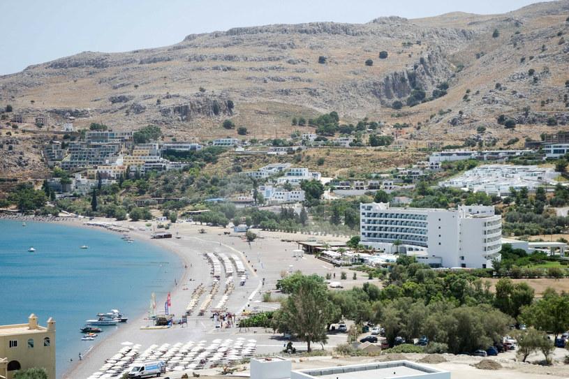 Grecka wyspa Rodos jest jednym z ulubionych miejsc turystycznych /Piotr Kamionka/REPORTER /East News