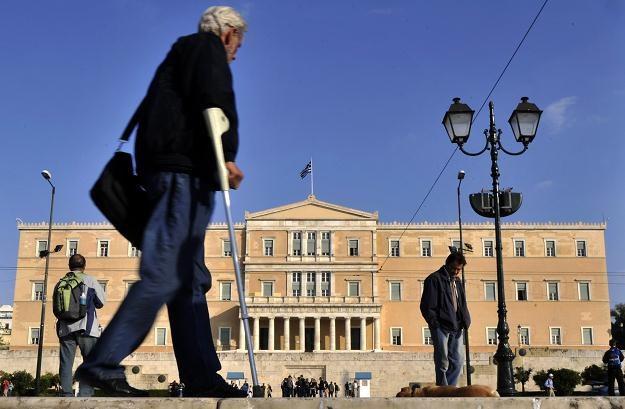 Grecki parlament zatwierdził kolejne cięcia budżetowe /AFP