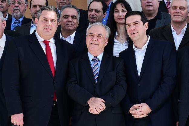 Grecki rząd ma trudny orzech do zgyzienia /AFP