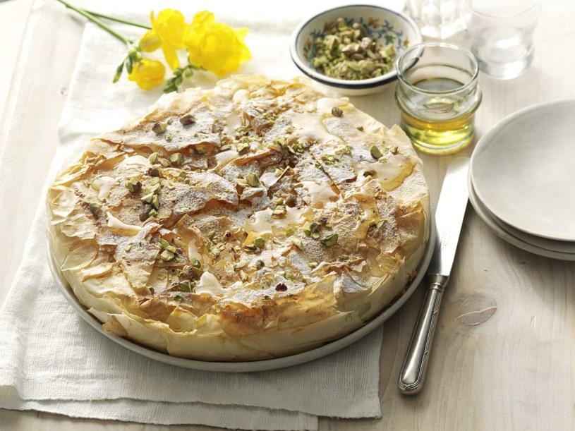 Greckie ciasto /materiały prasowe