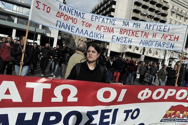 Grecy mają ostatnio pod górkę... /AFP