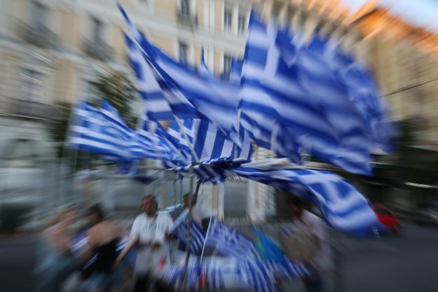 """Grecy mówią twarde """"nie"""" /PAP/EPA/KAY NIETFELD /PAP/EPA"""
