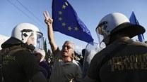 Grecy protestują w związku z programem oszczędnościowym