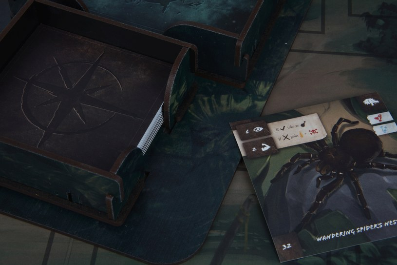Green Hell: The Board Game /materiały prasowe