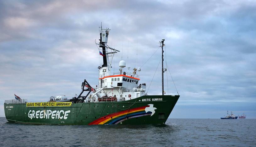 Greenpeace pozywa Rosję przed Trybunał Praw Człowieka /AFP