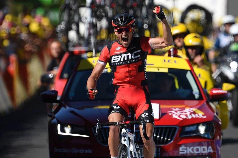 Greg van Avermaet na mecie /AFP