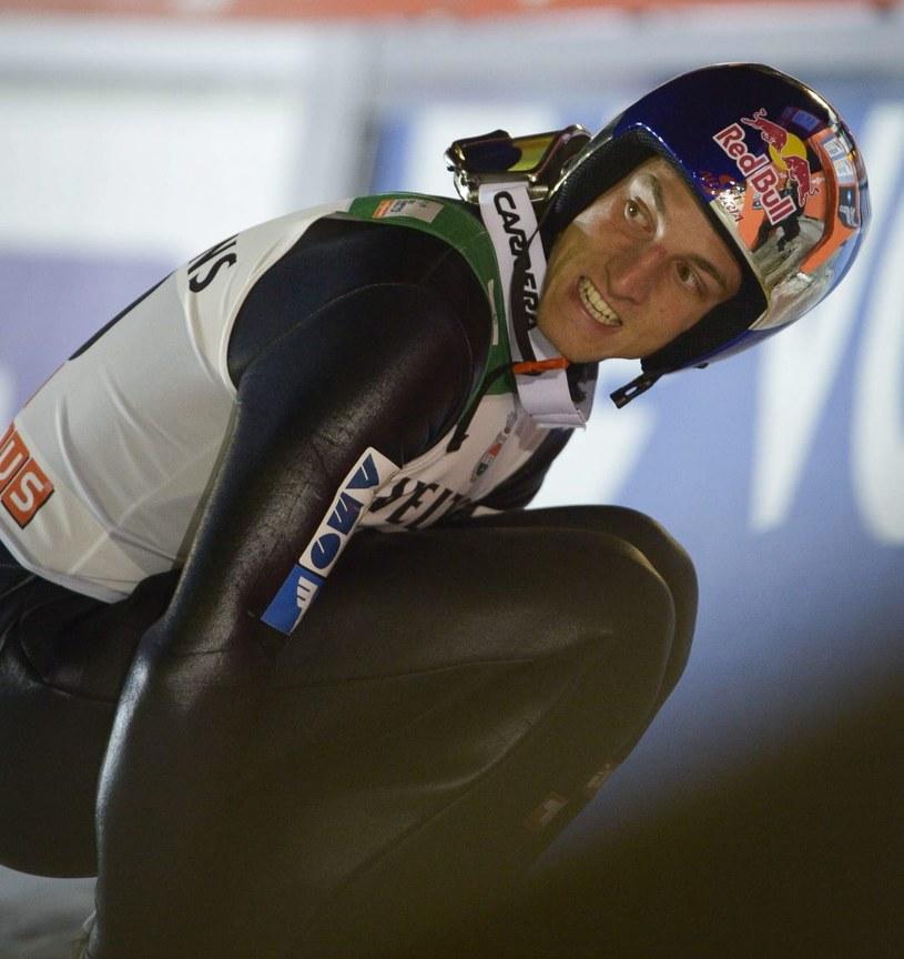 Gregor Schlierenzauer słabo rozpoczął sezon, ale nie można go skreślać /PAP/EPA