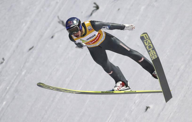 Gregor Schlierenzauer w Vikersund /AFP