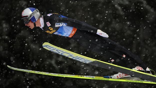 Gregor Schlierenzauer zwyciężył w Turnieju Czterech Skoczni /AFP