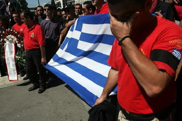 Grekom trudno pogodzić się z sytuacją swojego kraju /AFP