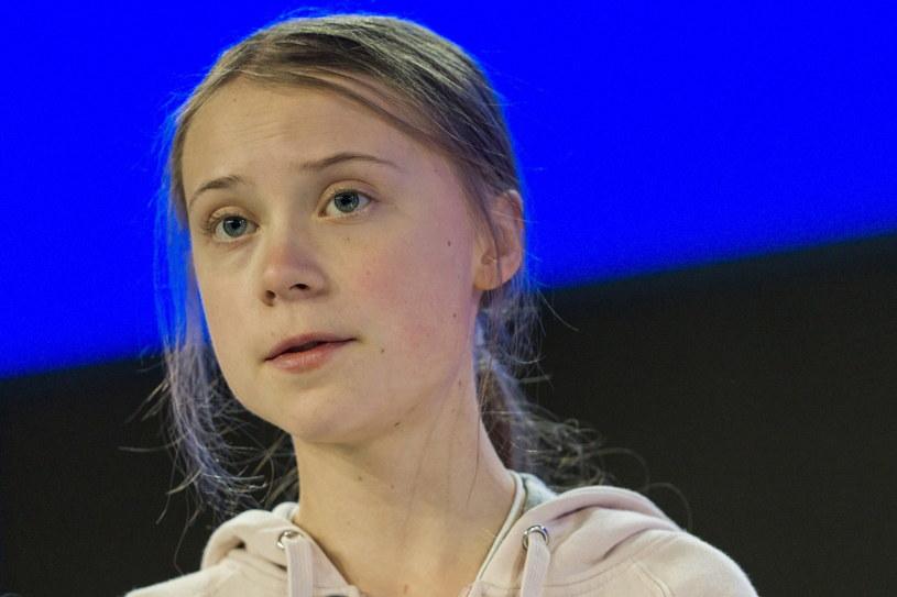 Greta Thunberg w Davos /ALESSANDRO DELLA VALLE /PAP/EPA