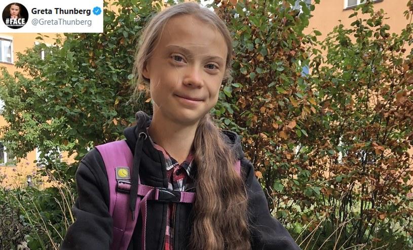Greta Thunberg wraca do szkoły /Twitter