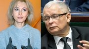 """Gretkowska składa życzenia Kaczyńskiemu! """"Może wsadzić palec w tyłek kota"""""""
