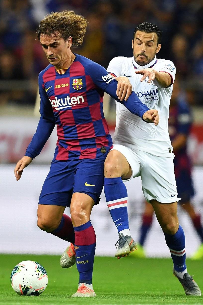 Griezmann w pierwszym meczu w barwach Barcelony /AFP