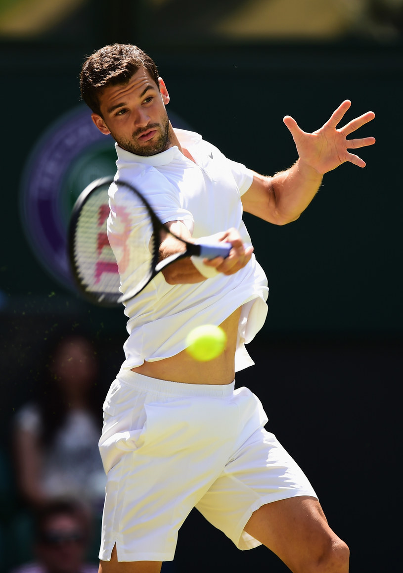 Grigor Dimitrov /Shaun Botterill /Getty Images