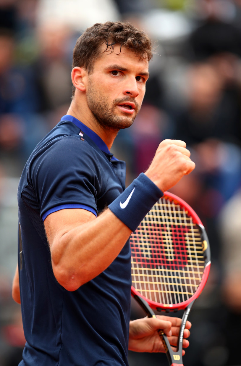 Grigor Dimitrov /Clive Brunskill /Getty Images