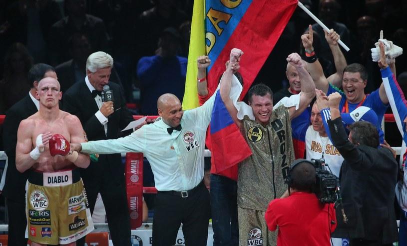 Grigorij Drozd - mistrz świata WBC w wadze junior ciężkiej /PAP/EPA