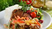 Grillowana karkówka z cygańskim sosem