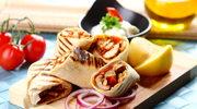 Grillowana tortilla z kurczakiem
