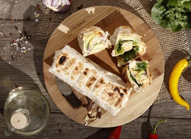 Grillowana tortilla z serem /materiały prasowe /materiały prasowe