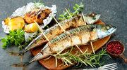 Grillowane makrele z sosem