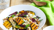 Grillowane warzywa z komosą ryżową