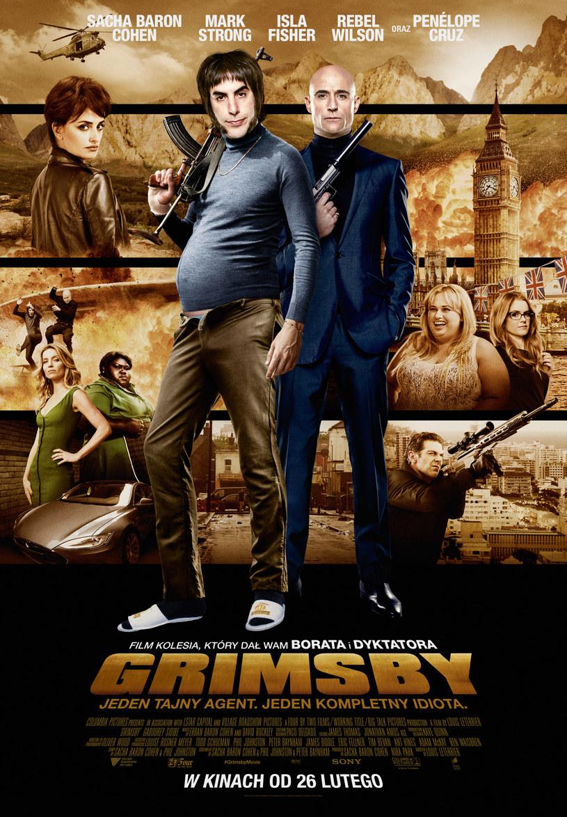 """""""Grimsby"""" trafi na ekrany polskich kin w ostatni piątek lutego /materiały dystrybutora"""