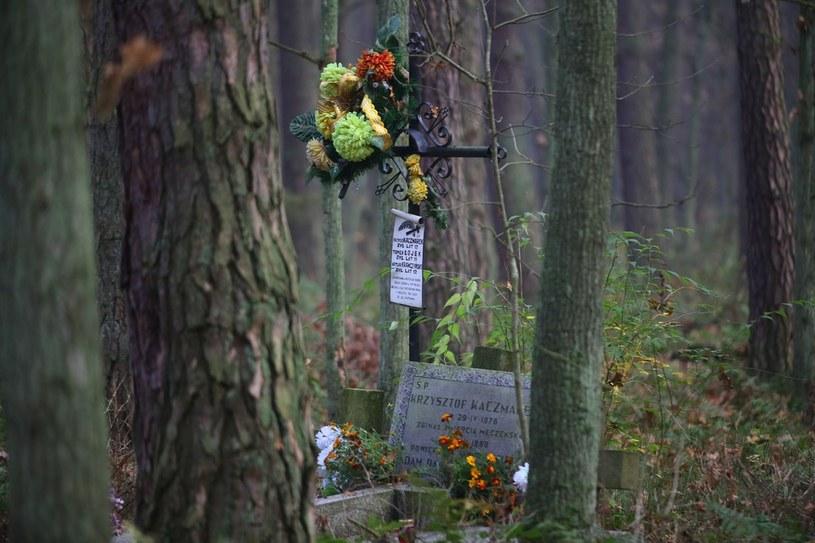 Grób dzieci zamordowanych przez Mariusza Trynkiewicza /Adam Staśkiewicz /East News