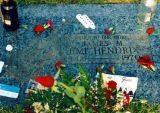 Grób Jimmiego Hendrixa /