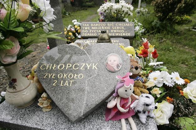 Grób małego Szymona /fot. Marcin Tomalka /Agencja SE/East News